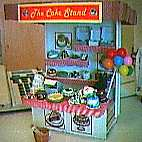 Dollhouse Miniature - cakes for sale stand