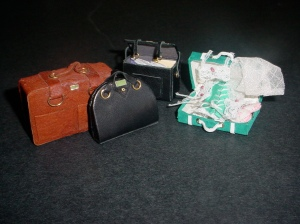 Dollhouse Miniature Magazine Article - Luggage and Lingerie