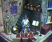 Dollhouse Miniature - Sorcerer's Spellbook