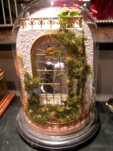 Miniature Scene in a Dome - Exterior Side  - for Jennifer's Wedding