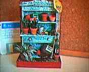 Dollhouse Miniature - potting table