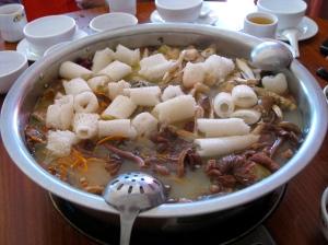 Wild Mushroom Hot Pot