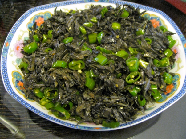 Gan Ba Jun Mushrooms, Yunnan Style