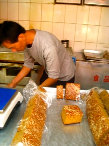 Yunnan Spice Cake Sold at Local Wet Market