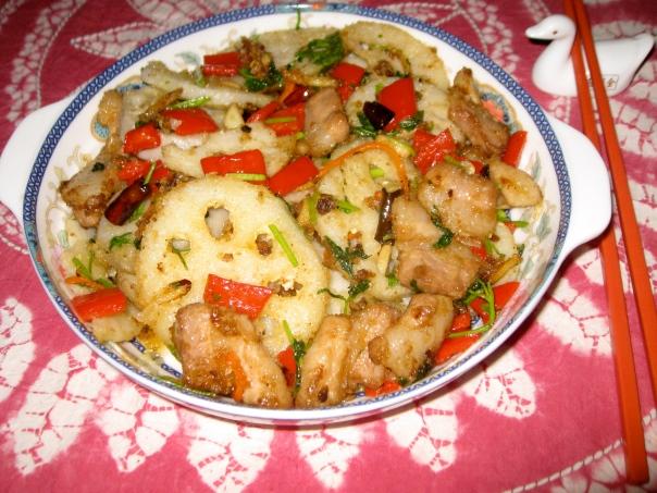 Yunnan Lotus Root and Pork