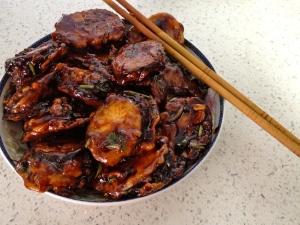 Stuffed Eggplant Chinese Style