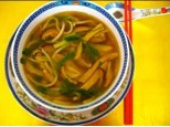 udon or rice noodle soup recipe