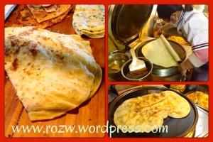 Making Egg Pancake