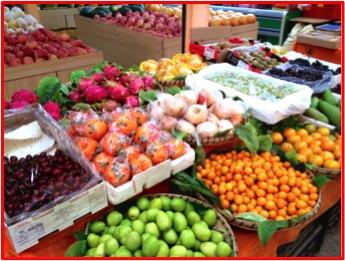Beautiful fruit for sale