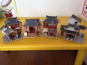 4 completed buildings