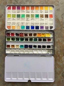 DS paint in order by ROYBIV