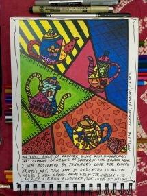 Romero Britta - style art