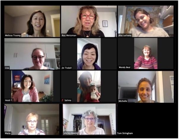 Zoom Team Meeting - Sew forTO